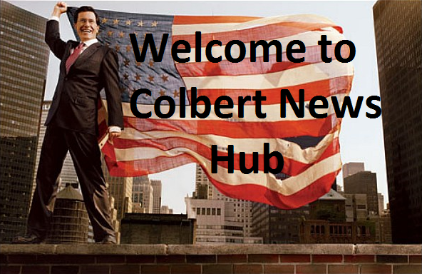 Stephen Colbert and the American Flag