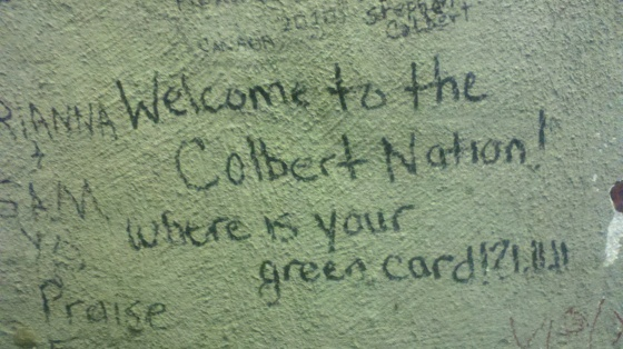 Colbert Wall Nation