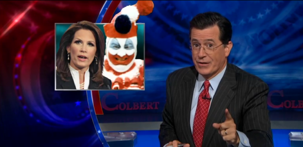 Stephen Colbert on Michele Bachman
